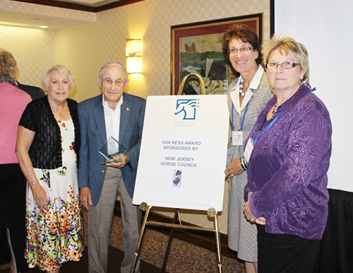 Members of the New Jersey Horse Council with Paul Briney.