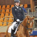 NZ's WEG para-equestrian en route to France