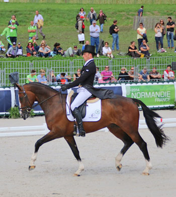 Tim Price (NZL) and Wesko.