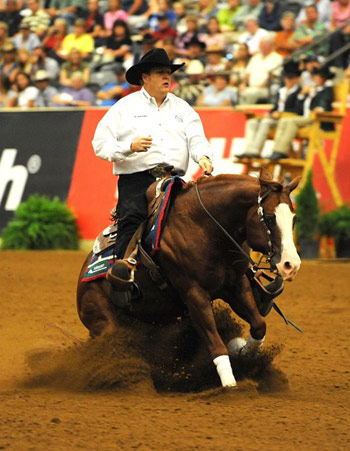 USA team veteran Tom McCutcheon, who won individual gold in 2010 in Kentucky aboard Gunners Special Nite, will be defending his title in Normandy alongside wife, Mandy.