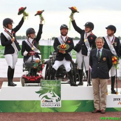 WEG para-equestrian gold to Great Britain