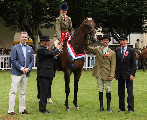 The Racehorse to Riding Class winner was Joanna Quirke.