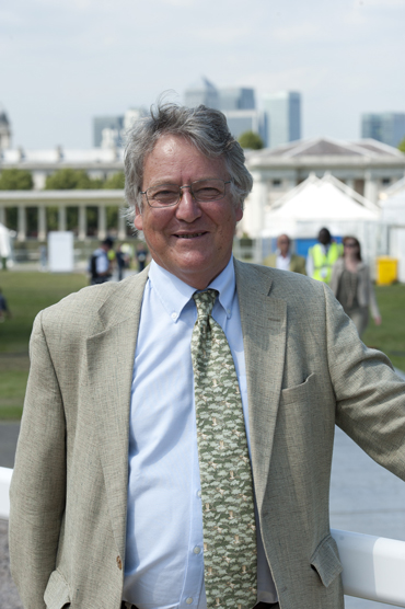 """FEI first vice-president John McEwen: """"The welfare of the horse is not just a veterinary issue; it's an issue for all those who work in the sport.""""  © FEI"""