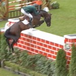 Michael Hutchinson and Acorad 3 master the 2.5m jump.