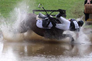 Higher placed eventers more likely to fall on cross-country - study