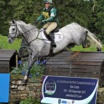 British rider Nicky Roncoroni on Stonedge at Blair Castle horse trials this season.
