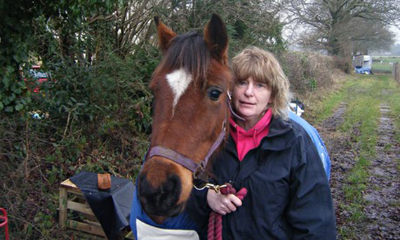 The body of Pennie Davis was found by her husband near the village of Beaulieu in the New Forest. Photo: Hampshire Constabulary