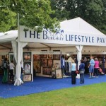 The Burghley Lifestyle Pavilion.