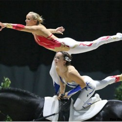 Britain's Joanne Eccles retains WEG vaulting title