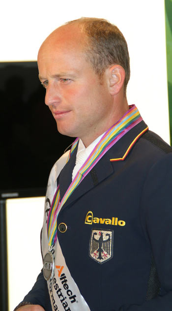 Eventing silver medalist Michael Jung.