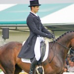 NZ's Paget takes Burghley dressage lead