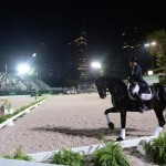 Steffen Peters and Ravel in their special performance at the Central Park Horse Show.