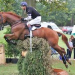 Blenheim CCI3* leader William Fox-Pitt and Freddie Mac.