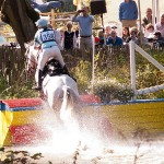 Cross-country action at Waregem.