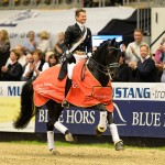 Edward Gal and Glock's Undercover won the opening leg of the Reem Acra FEI World Cup Dressage 2014/2015 Western European League at Odense in Denmark on Sunday.