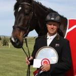 Arran Station Horse Trials winner Matthew Grayling and NRM Lowenberg.