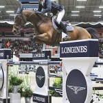 Swiss riders filled the top three placings at Sunday's World Cup jumping competition at Helsinki in Finland, led by Olympic champions Steve Guerdat and Nino des Buissonnets.
