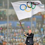 IOC President Thomas Bach, pictured at the Nanjing Youth Olympics closing ceremony.