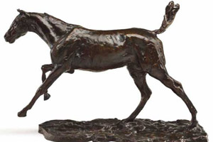 Horse bronze expected to fetch up to $US1.5 million