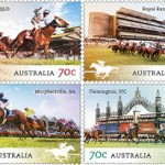 First past the post: Aussie stamps depect racecourses