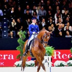 Two-time series champions Adelinde Cornelissen and Jerich Parzival won the second leg of the Reem Acra FEI World Cup series at Lyon, France.