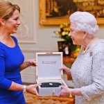 Her Majesty Queen Elizabeth II became the first recipient of the FEI Lifetime Achievement award in recognition of her leading role as supporter of equestrian sport throughout her reign as British monarch. The award was presented by FEI President HRH Princess Haya at a ceremony in Buckingham Palace.