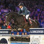 The French partnership of Simon Delestre and the stallion Qlassic Bois Margot produced a devastating turn of speed to win the eighth leg of the Longines FEI World Cup Jumping 2014/2015 Western European League at Mechelen in Belgium.