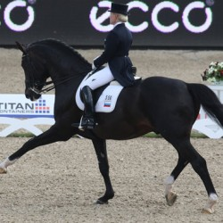 Russian riders dominate World Cup Dressage series