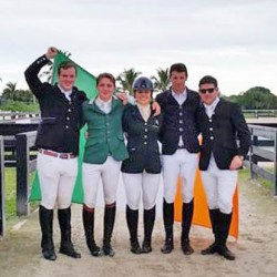 Gold and silver for Ireland in Student Riders Nations Cup