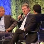 "Ludger Beerbaum and DFB President Wolfgang Niersbach at the ""Menschen 2014"" Gala of the Zeitungsverlag Aachen last week."