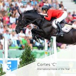 US Horse of the Year: fans choose Cortes C and Ellis GV