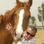 Jockey Greg Hall and Doriemus at Living Legends.