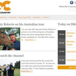 Equestrian TV channel launches in Australia