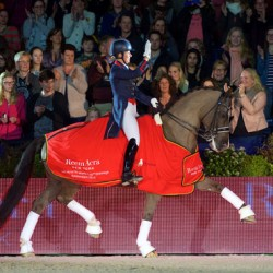 Another notch in the bridle for Charlotte and Valegro