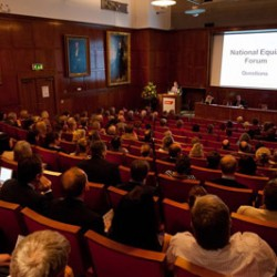 Nine made honorary fellows of Britain's National Equine Forum