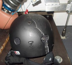 Helmet 'extras' don't help lower concussion risk, study finds