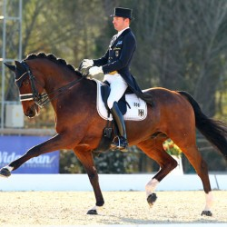 Germany stamps mark on Nations Cup Dressage opener