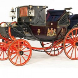 Former British royal coach fetches nearly £250,000 at auction
