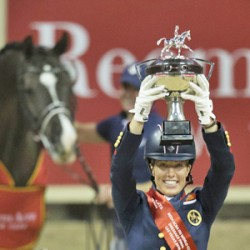 Valegro retains World Cup dressage final title