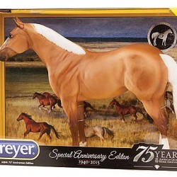 Special models mark Quarter Horse Assn's 75th anniversary