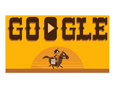 Google doodle honors the Pony Express