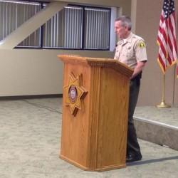 Ten deputies on leave over alleged beating of horseback suspect