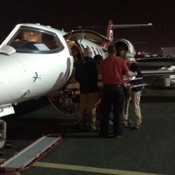 Jessica Phoenix back home after serious fall in US
