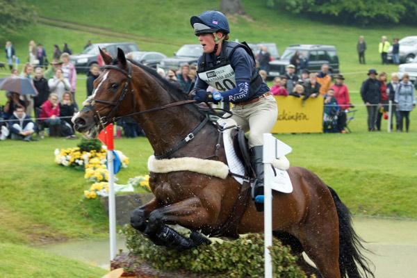 Flora Harris Flora Harris keeps lead in Bramham horse trials feature