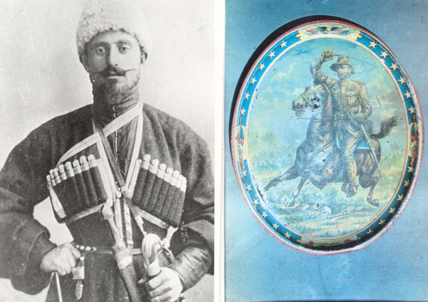 Georgia Giorgi Chkhaidze so impressed Theodore Roosevelt with his riding that he presented him with a tray and ring.