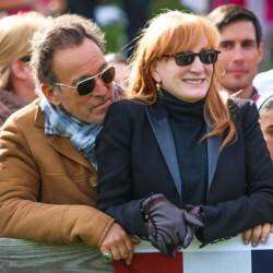 Springsteens add rock royalty to Rio benefit