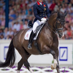 Backing the Brits: Charlotte and Valegro ready for European Champs