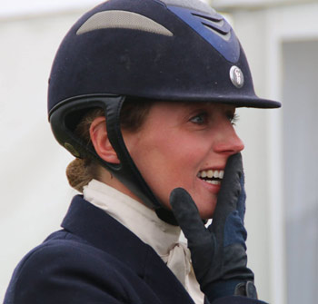 Flora Harris Flora Harris scores first 3 win at Bramham Horse Trials Horsetalk