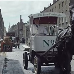 Horse-themed commercial marks bank's 250th anniversary