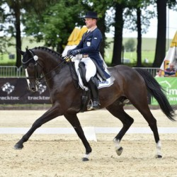 Michael Jung's horses top two after Strzegom Horse Trials 3* dressage